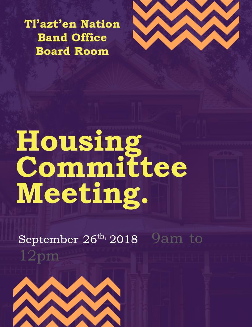 Housing Committee meeting